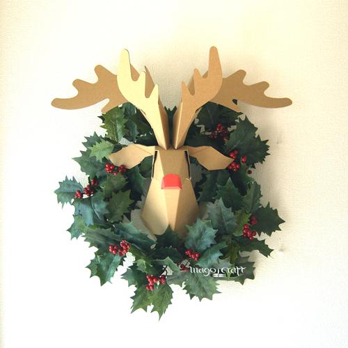 すべての折り紙 折り紙 種類 : ... 工作キット-3種類に変わる紙鹿